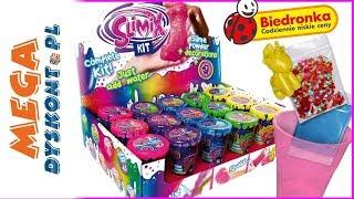 Slimix Kit z Biedronki  NOWE SLIME