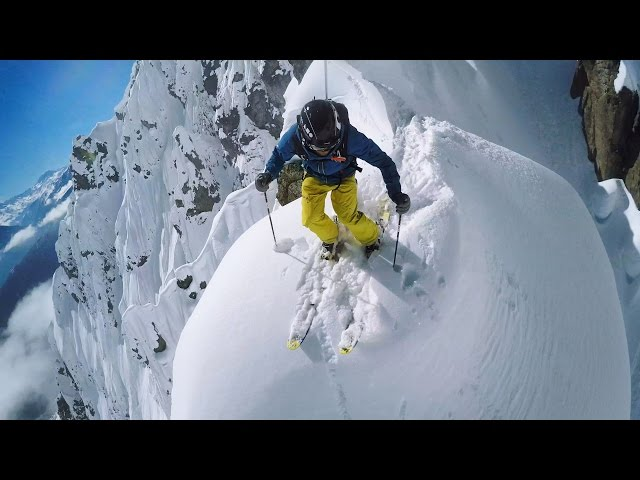 GoPro Line of the Winter: Nicolas Falquet – Switzerland 4.14.15 – Snow