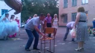 Competition for the wedding / Конкурс на свадьбе