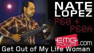 """Nate Lopez performs """"Get out of my Life Woman"""" on EMGtv"""