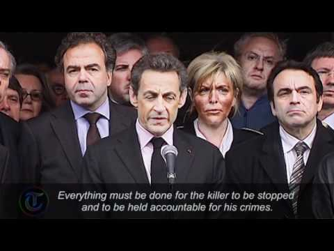 Nicolas Sarkozy vows to catch Toulouse school killer