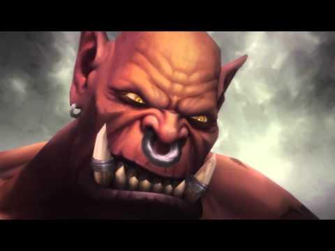 Thrall VS Garrosh WOD version! EPIC cinematic! [Spoiler]
