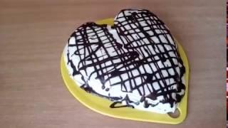 Торт Молочная девочка ко Дню влюблённых!