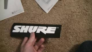 SHURE SM-48 Unboxing/Review