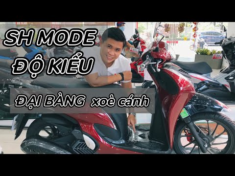 Honda SH Mode Độ Đồ Kiểu siêu đẹp | Giá xe SH MODE tháng 3 | Quang Motor