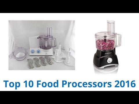 10 Best Food Processors 2016