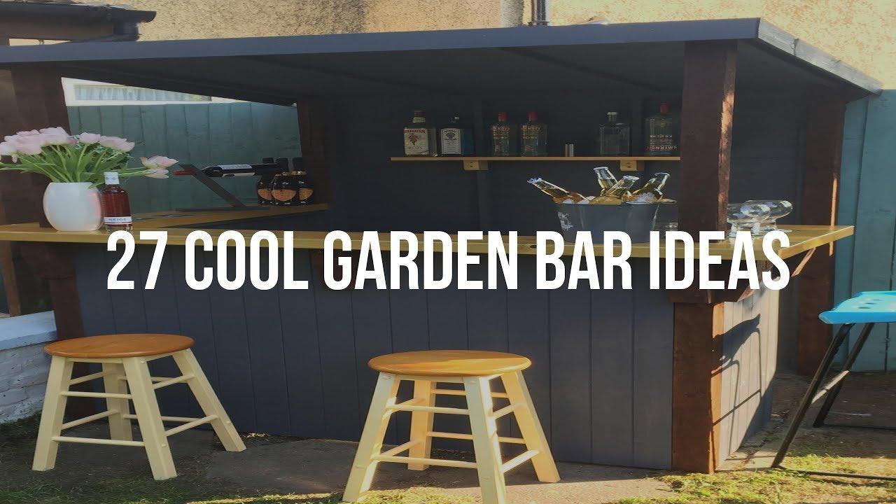 27 Cool GARDEN BAR IDEAS - YouTube