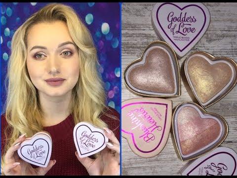 MakeUp Revolution Chocolate LOVE Обзор, вся правда, урок макияжа