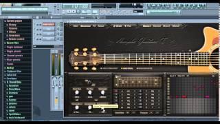 Hướng dẫn sử dụng 1 số Plugin trên FL Studio #1: Ample Guitar T