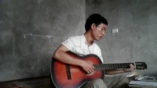 Bờ vai Giê-Su guitar tập!