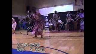Djian Tie/The West African Movement Dance Part 1