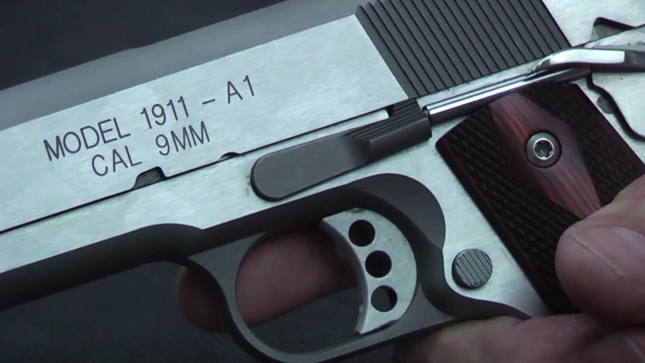 Springfield Armory 1911-A1 Range Officer 9mm