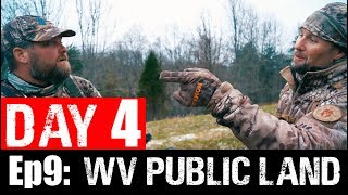 Ep9: WEST VIRGINIA PUBLIC LAND TURKEY HUNTING. DAY 4.
