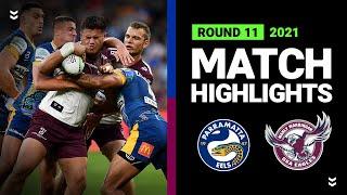 Eels v Sea Eagles Match Highlights   Round 11, 2021   Telstra Premiership   NRL