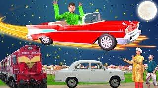 कार चोर Car Thief हिन्दी कहानी Hindi Kahaniya | Panchatantra Moral Stories Bedtime Hindi Fairy Tales