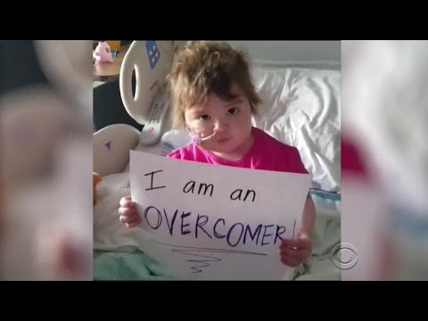 Meet Leah the Overcomer, a young girl who is inspiring the world