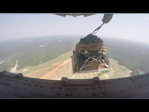 Drop 5,000 Feet In A Humvee