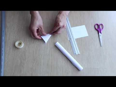 DIY Paper Rocket (For PVC Rocket Launcher)