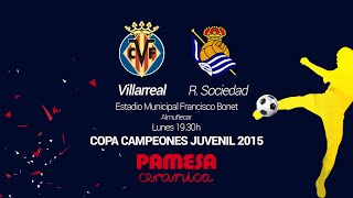 Video Gol Pertandingan Real Sociedad vs Villarreal