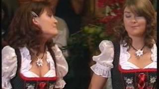 Vivien und Thwini  HQ  Mädchen habens schwer  Musikantenstadl  Passau  14112009