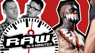 Rollins Meets Balor's Demon King; Lesnar vs Slater | WWE RAW in 3 MINUTES 8/15/16
