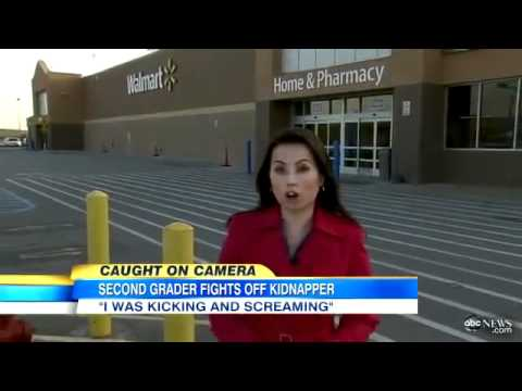 Little Girl Escapes from Alleged Kidnapper in Walmart Caught on ...