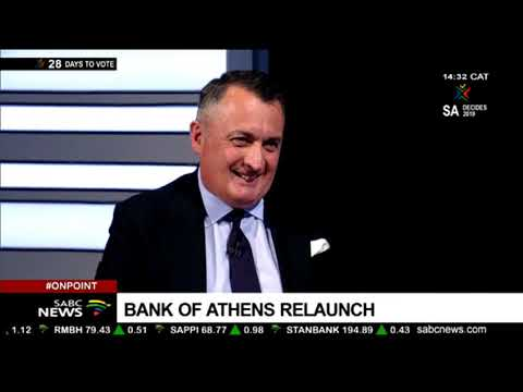 Bank Of Athens Relaunch: Spiro Georgopoulos