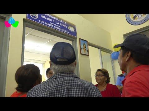 Relanzamiento de la comisaría de la mujer y la niñez en Quilalí, Nueva Segovia
