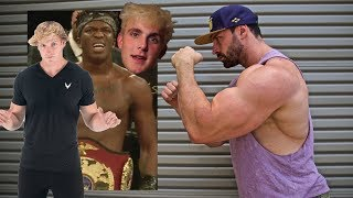 BRADLEY MARTYN VS. KSI VS. LOGAN PAUL VS. JAKE PAUL
