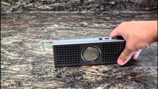 review keedox aluminum made portable wireless surround sound stereo bluetooth speaker