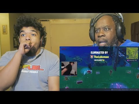 Dad Reacts to a Fortnite Rage Compilation! 😂(Dad Rages)