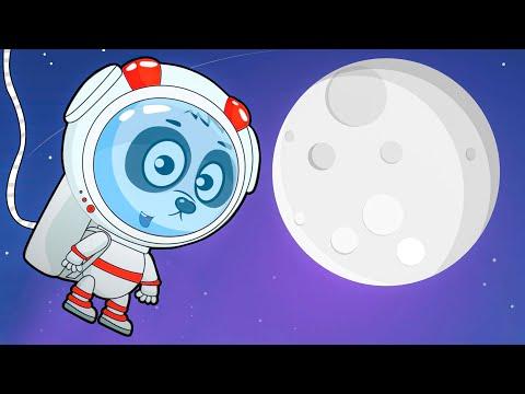 Мультик Для Детей Про Ракету и Космос - Биби Чинит Луноход
