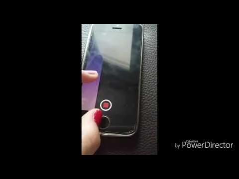 Как снять видео на айфоне с заблокированным экраном