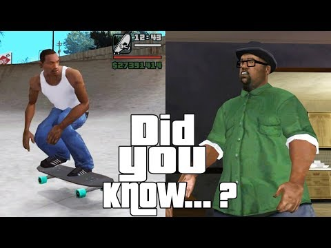 GTA San Andreas Secrets and Facts 9