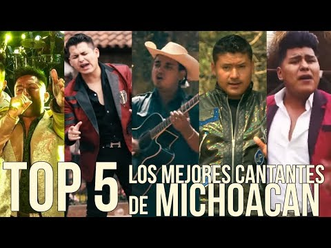 TOP 5 - LOS MEJORES CANTANTES DE BANDAS DE MICHOACAN (contrataciones de bandas)