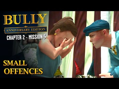 Bully: Anniversary Edition - Mission #19 - Small Offences (All Garden Gnomes Location)