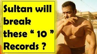Sultan will break these 10 records