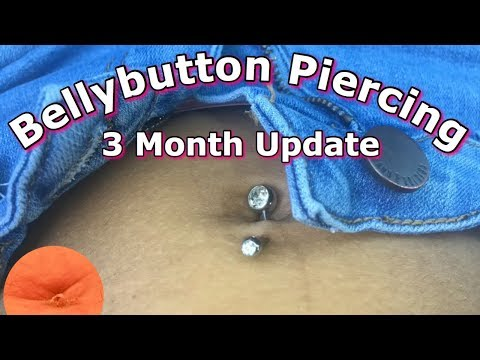 3 Month Bellybutton Piercing Update