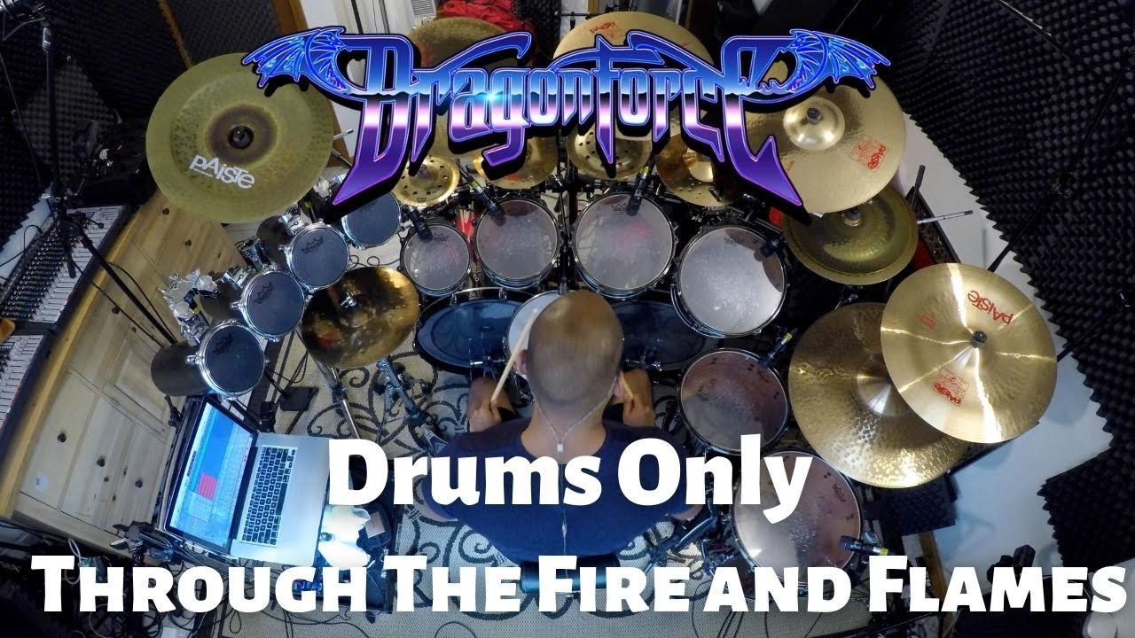 DragonForce - Through The Fire And Flames Drums Only