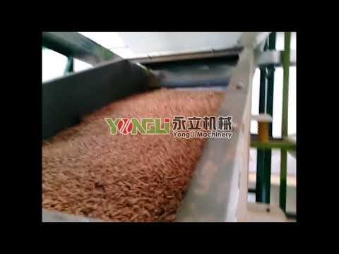 YONGLI wood pellet line