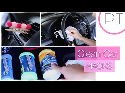 Clean Car Hacks & Organizing Tips