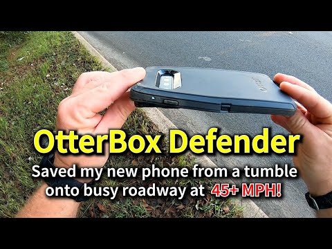 REVIEW: OtterBox Defender saved my phone!