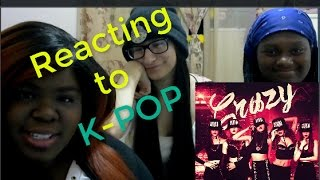 Gambar cover JazzKat w/friends reacts to 4MINUTE - 미쳐(Crazy)