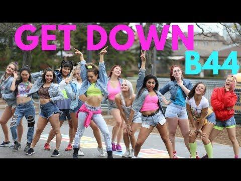 B44 - GET DOWN II #FINDYOURFIERCE by MONICA GOLD