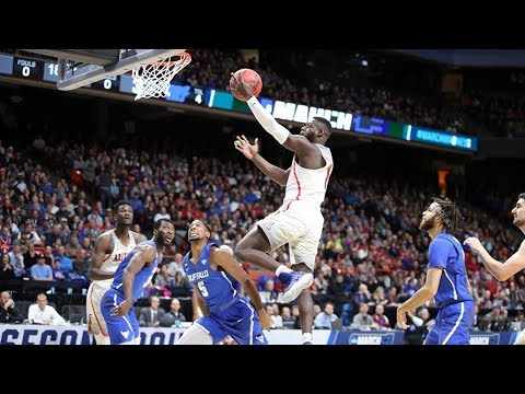 Highlights: Arizona men's basketball upended by Buffalo in NCAA Tournament first round
