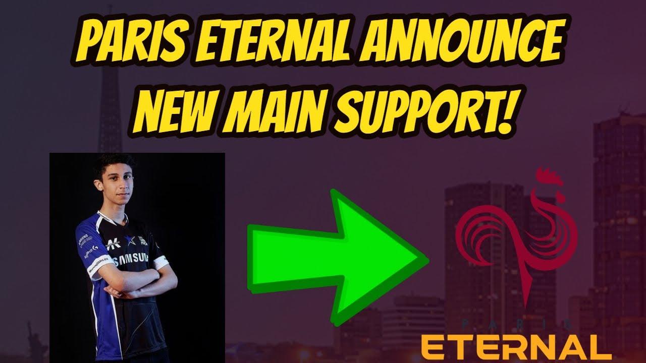Paris Eternal Sign Dridro As New Main Support!