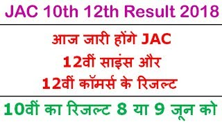 Jharkhand Board 10th 12th Result 2018 - jac.nic.in Arts, Commerce, Science Results