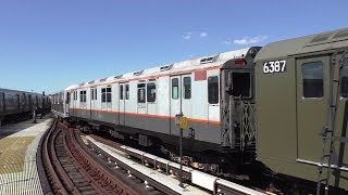 NYC Subway HD 60fps: Chasing Train of Many Metals [R11, R38, R42, R10, & R16] on SAS & Coney Island