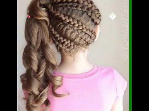 Детская причёска на каждый день