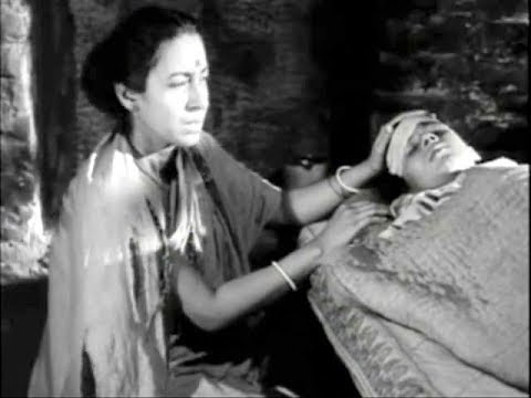storm scene from pather panchali 1955 youtube